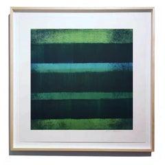Monoprint Abstract Prints