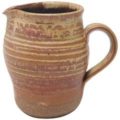 Karen Karnes Mid-Century Modern Stoneware Art Pottery Pitcher