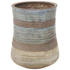 Karen Karnes Mid-Century Modern Stoneware Art Pottery Vase
