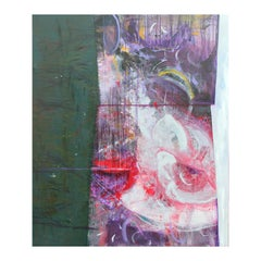 """""""Sounds From Within - Sounding III"""" Large Modern Abstract Expressionist Painting"""