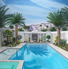 'Shadow Pool' Oil on Canvas, Contemporary Painting