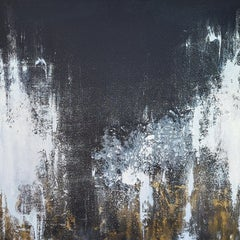 NIGHT FROST, Painting, Acrylic on Canvas