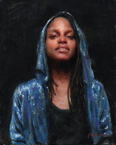 """Karla,"" Oil Painting"