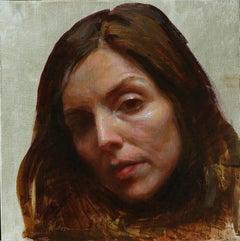 """""""Locked,"""" Oil Painting"""