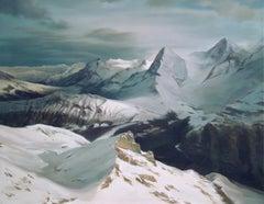MOUNTAINS, Oil on Canvas
