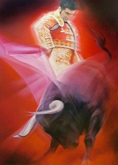 TOROS, Oil on Canvas