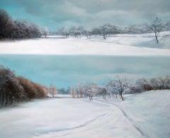 WINTER BALANCE, Oil on Canvas
