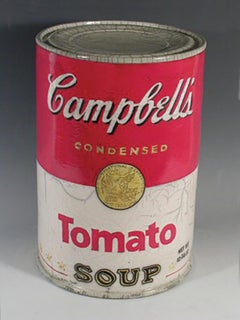 """Campbell's Soup Can - Tomato"""