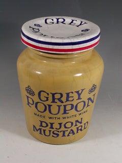 """""""Grey Poupon Mustard Jar"""""""