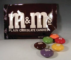 """""""M&M Bag and Candies"""""""