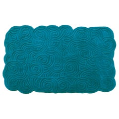 Karesansui Light Blue Rectangular Large Rug by Matteo Cibic