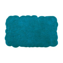 Karesansui Light Blue Rectangular Medium Rug by Matteo Cibic