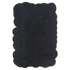 Karesansui Rectangular Small Rug Rock by Matteo Cibic