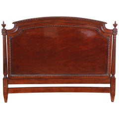 Karges Carved Mahogany Queen Size Headboard