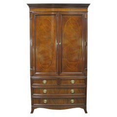 Karges Furniture Chippendale Style Mahogany Armoire