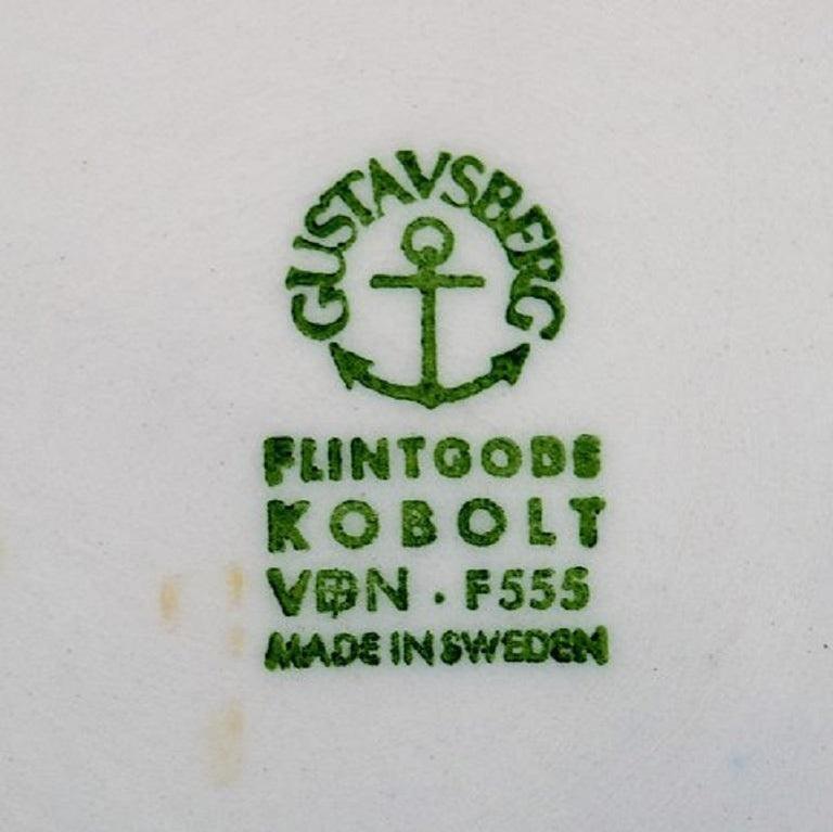 Stoneware Karin Björquist for Gustavsberg, Set of Four