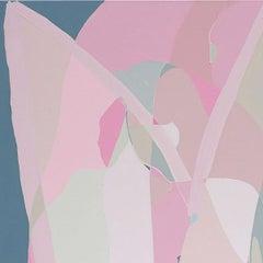Blush on Blush, Painting, Acrylic on Canvas