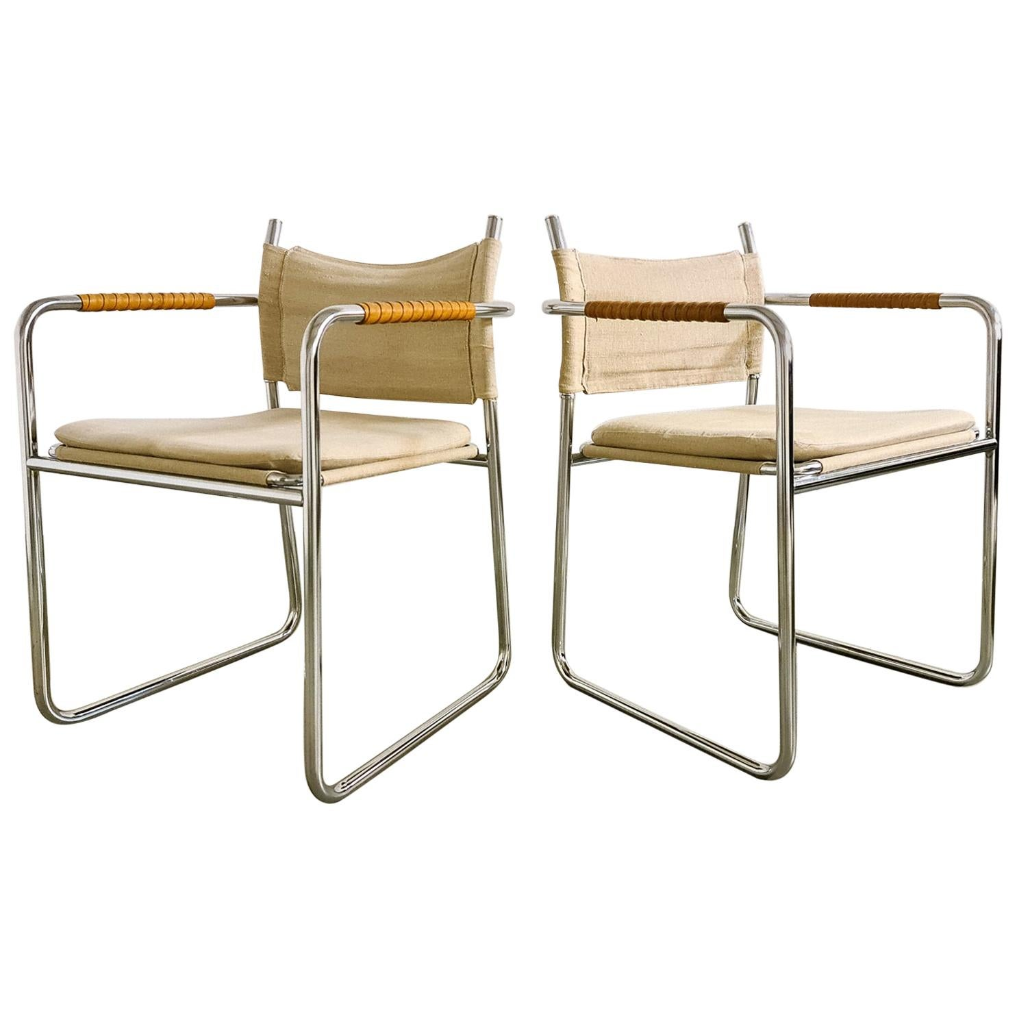 Karin Mobring Armchairs Model Amiral by Ikea in Sweden, 1970s