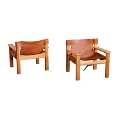 Karin Mobring Natura Easy Chairs, Sweden, 1970s