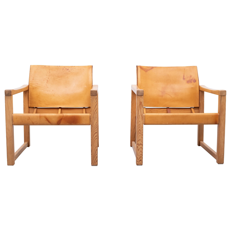Karin Mobring Safari Chairs Model ''Diana'', 1972