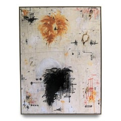 """""""Encore II"""" Enormous Original Abstract Painting in Earth Tones, 6 ft. x 8 ft."""