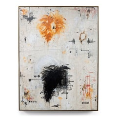 """Encore II"" Enormous Original Abstract Painting in Earth Tones, 6 ft. x 8 ft."