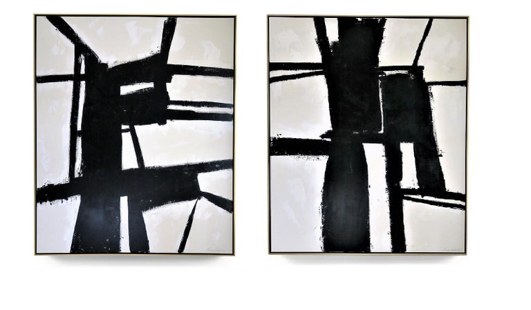 """Karina Gentinetta Abstract Painting - Special Listing for Tracie """"Perseverance"""" and """"Strength""""  60"""" x 72"""", 2019"""