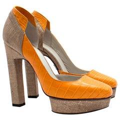 Karina IK Yer Coco Block Heels - Size EU 37
