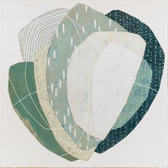 "Karine Léger - ""Keeping You Close"" - mixed media on canvas"