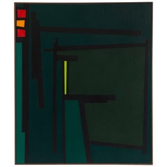Karl Benjamin Californian Hard Edge Painting Movement