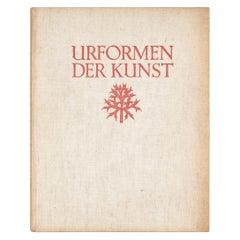 """Karl Blossfeldt """"Urformen Der Kunst"""" 1935 Book"""