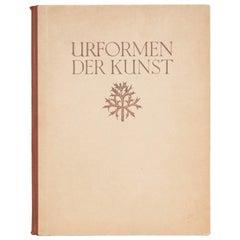 """Karl Blossfeldt """"Urformen Der Kunst"""" 1948 Book"""