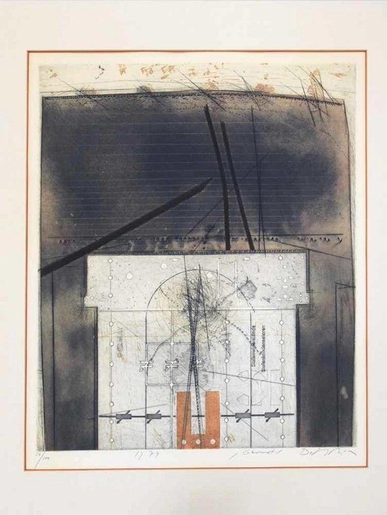 Germat - Original Etching by Karl Fred Dahmen  For Sale 1