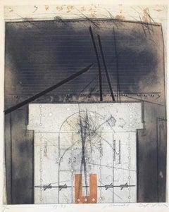 Germat - Original Etching by Karl Fred Dahmen