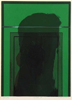 Untitled - Original Screen Print by Karl Fred Dahmen  - 1971