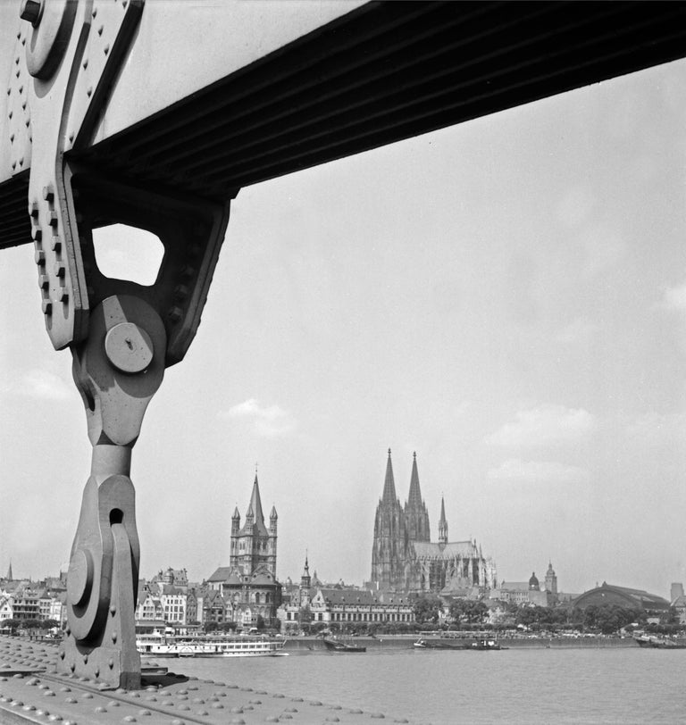 Karl Heinrich Lämmel Black and White Photograph - Cologne, Germany 1935, Printed Later