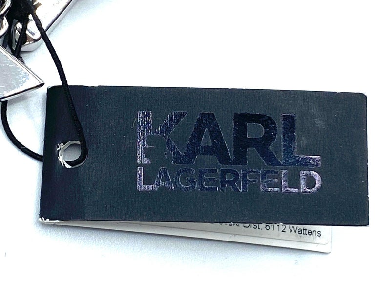 Karl Lagerfeld Art Deco Style Limited Edition Necklace no. 2 of 25 For Sale 7