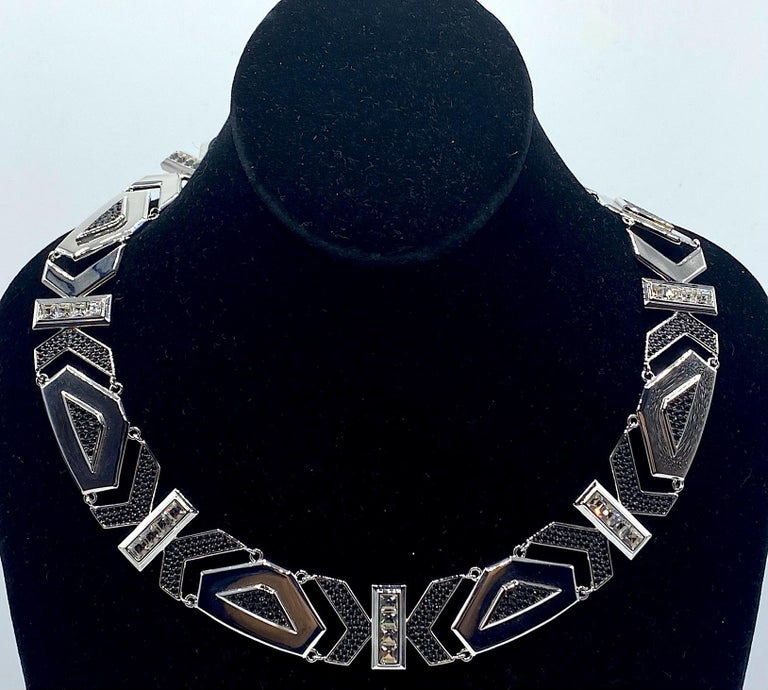 Women's Karl Lagerfeld Art Deco Style Limited Edition Necklace no. 2 of 25 For Sale
