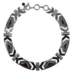 Karl Lagerfeld Art Deco Style Limited Edition Necklace no. 2 of 25