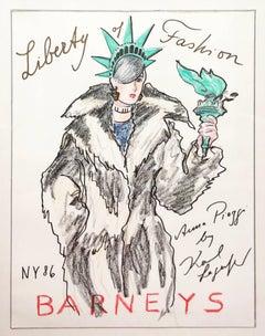 Anna Piaggi for Liberty of Fashion, Barney's New York