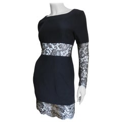Karl Lagerfeld Dress with Lace Cut outs