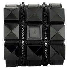 Karl Lagerfeld Leather 3 Bracelet Watch KL2001