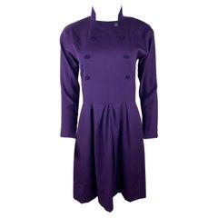 Karl Lagerfeld Purple Mini Dress, Size 40