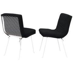 Karl Lightfoot Studio Occasional Iron Chairs, 20th Century