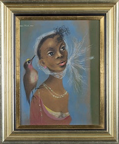 Young Girl (Girl with Bird)