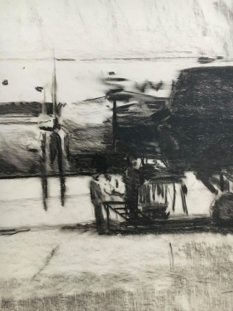 Karl Schiestl Set of Four Large Airport Vienna 'Neubau' Drawings, Austria 1959 For Sale 3