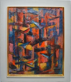 Abstract Expressionist Composition by Karl Schlageter