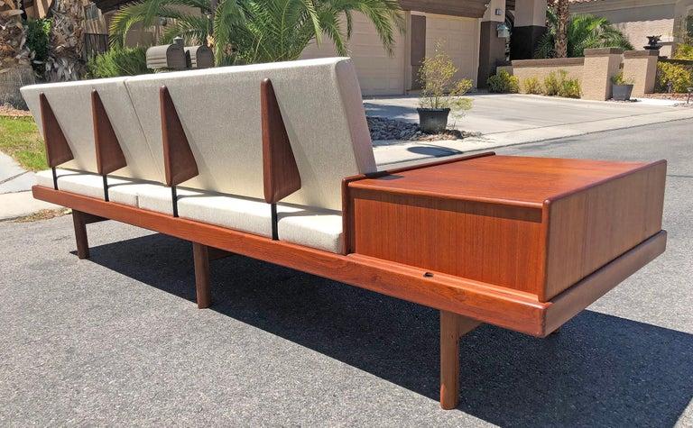 Mid-Century Modern Karl Sorlie & Sonner Sarpsborg Modular Platform Sofa
