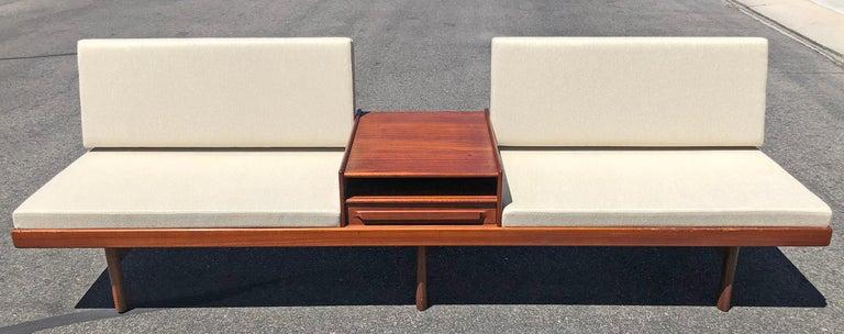 Teak Karl Sorlie & Sonner Sarpsborg Modular Platform Sofa