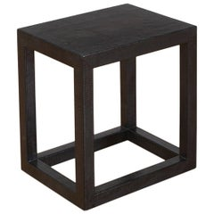 Karl Springer Black Lizard Parsons Cube Table